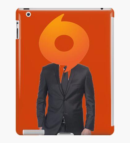 half man half origin iPad Case/Skin