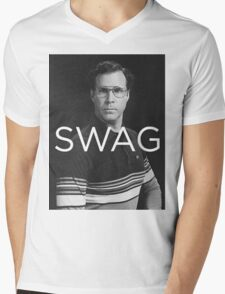 Will Ferrell Swagger Mens V-Neck T-Shirt