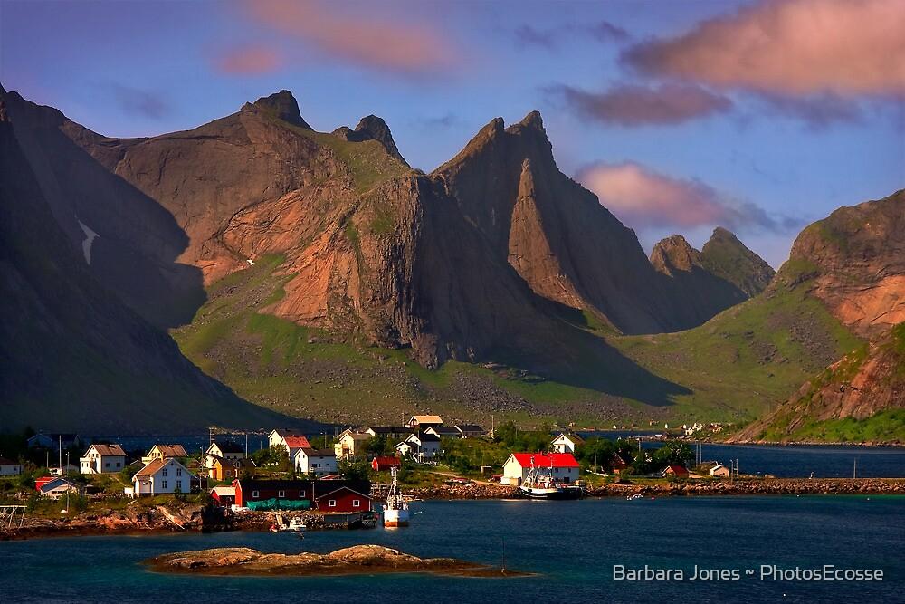Sorvagen. Moskenesoy Island. Lofotens. Norway. by photosecosse /barbara jones
