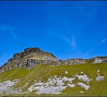 Pen-Y-Ghent, Horton In Ribblesdale, Yorkshire Dales, UK. by Michael Upshon