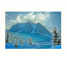 Winter Wonderland Alberta Canada Art Print