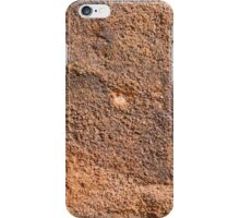 Rock face wall  iPhone Case/Skin