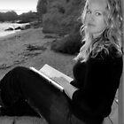 Sunset Reading by Eddie Yerkish