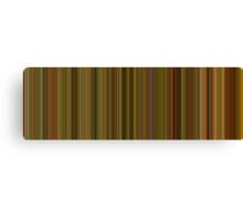 Moviebarcode: Amélie (2001) [Simplified Colors] Canvas Print