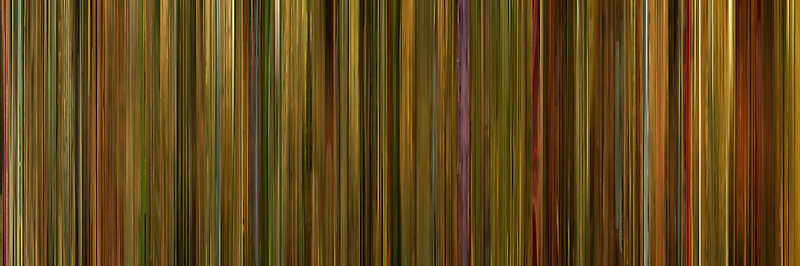 Moviebarcode: Amélie (2001) by moviebarcode