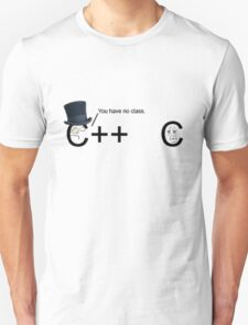 C++ v.s C   Programming language T-Shirt
