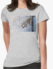 LATE SUMMER STORM Womens Fitted T-Shirt