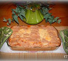 APPLE STRUDEL COFFEE CAKE by Claire Moreau