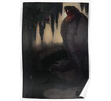 Maurice de Becque Livre de la jungle, p159 Poster