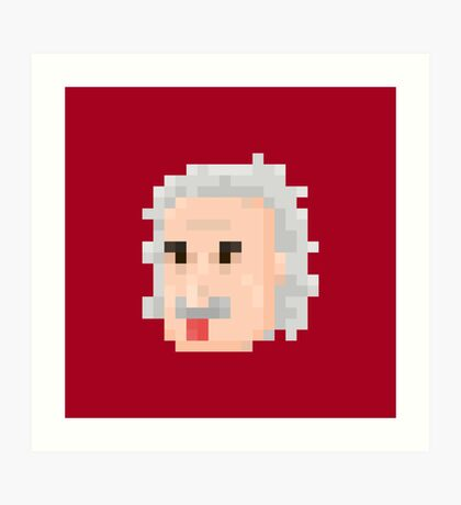 Albert Face Art Print