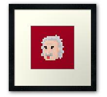 Albert Face Framed Print