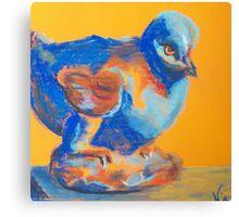 Vogel-Figured (Pastel) Canvas Print