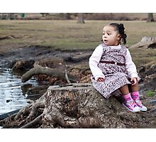 Taking it all in- Lala Photographic Print