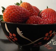 a bow of strawberries 4U by LisaBeth