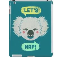 Sleepy Koala  iPad Case/Skin