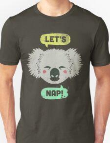 Sleepy Koala  T-Shirt