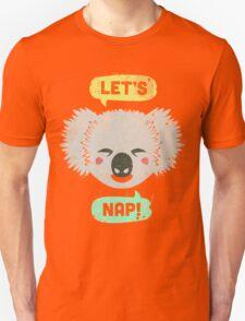 Sleepy Koala  Unisex T-Shirt