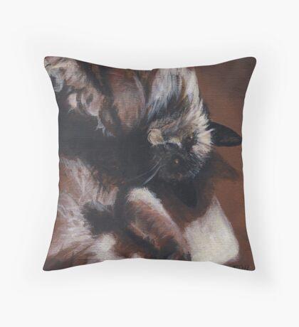 Warm Fuzzies Throw Pillow