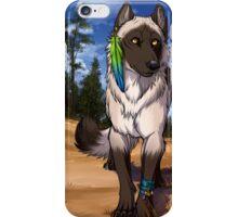 Pine Forest Wolf  iPhone Case/Skin