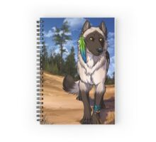 Pine Forest Wolf  Spiral Notebook