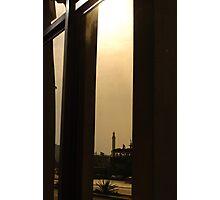 Reflective minaret Photographic Print
