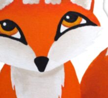 Fox and Owl Sticker