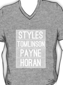 Styles, Tomlinson, Payne, Horan OT4 T-Shirt
