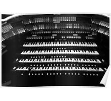 Old Organ. Poster