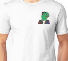 Reptilian Pepe on Your Stuffs Unisex T-Shirt