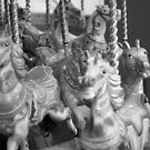 Merry go round horses. by lendale