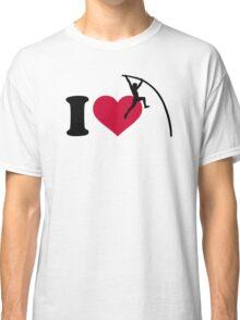 I love Pole vault Classic T-Shirt