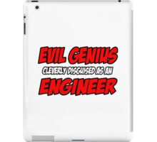 Evil Genius .. Engineer iPad Case/Skin