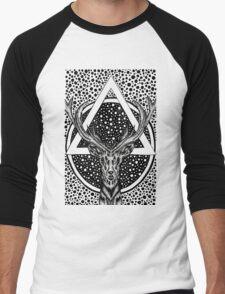 Automatica Deer Men's Baseball ¾ T-Shirt