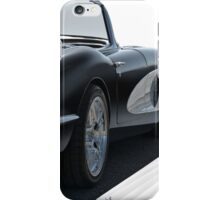 1958 Chevrolet Corvette 'all in perspective' iPhone Case/Skin