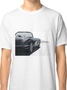1958 Chevrolet Corvette 'all in perspective' Classic T-Shirt