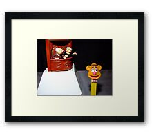 The Hecklers Framed Print