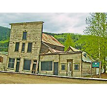 Dawson City Buildings Photographic Print