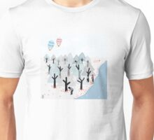 Picnic by the lake Unisex T-Shirt