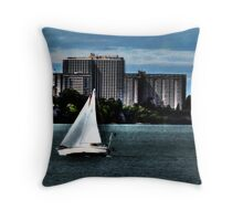 Cleveland Lakefront Throw Pillow