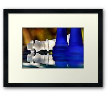 Fallen King Framed Print