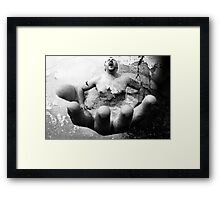 Escape From The Hand Of Justice Framed Print