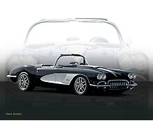 1958 Chevrolet Corvette 'Composite I' Photographic Print
