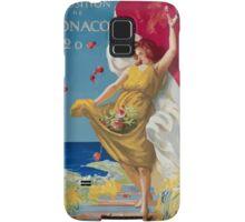 Leonetto Cappiello Affiche PLM Exposition Monaco Samsung Galaxy Case/Skin