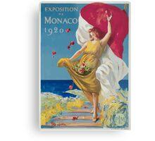Leonetto Cappiello Affiche PLM Exposition Monaco Metal Print