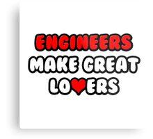 Engineers Make Great Lovers Metal Print