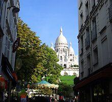 Sacré Coeur Basilica, Paris by Pierre Frigon