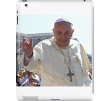 Pope Francis portrait iPad Case/Skin