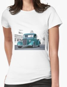 1935 Ford Custom Pickup Womens Fitted T-Shirt