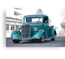 1935 Ford Custom Pickup Canvas Print