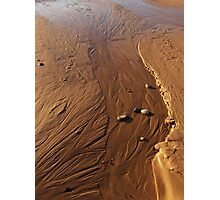 Sand Streams Photographic Print